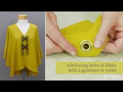 How to Insert Grommets and Eyelets