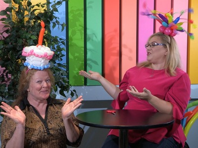 How To Make a Balloon Birthday Cake Fascinator Hat