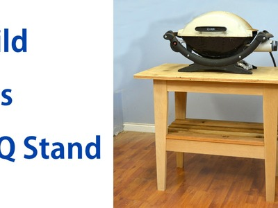 How to Make a Barbecue Stand