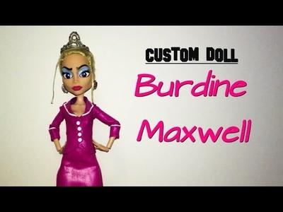 How to make a Burdine Maxwell doll (From BRATZ)