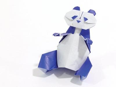 How to make a cute Origami Panda