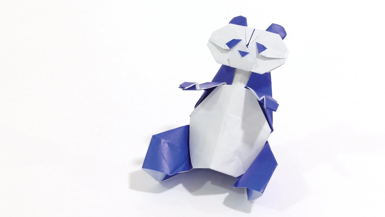 How to make a cute Origami Panda