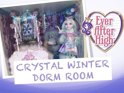 HOW TO MAKE A DORM ROOM FOR CRYSTAL WINTER [EVER AFTER HIGH]