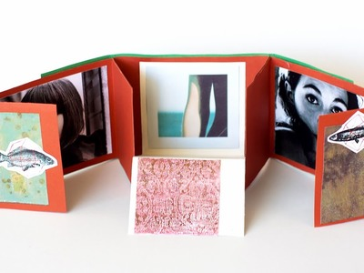 How to Make a Folding Scrapbook Album