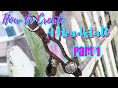 How to make a headstall pt.1
