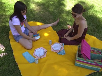 How to Make a Heart Shaped Picnic Blanket