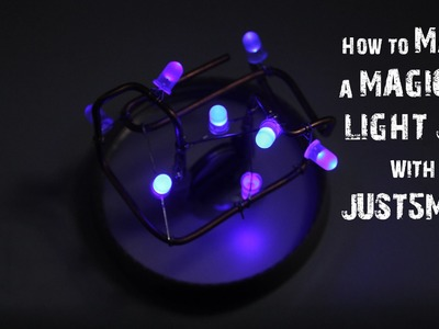 How to make a Magical Light Jar - Easy to Make - Just5mins