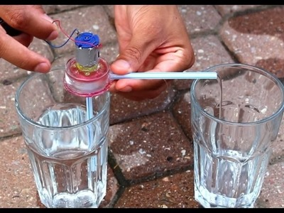 How to make a mini water pump