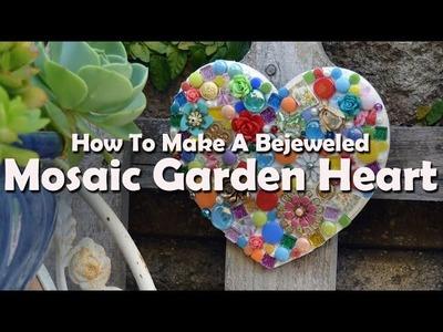 How To Make A Mosaic Garden Heart