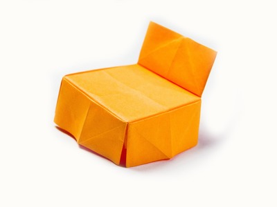 How to make a paper chair | origami tutorial