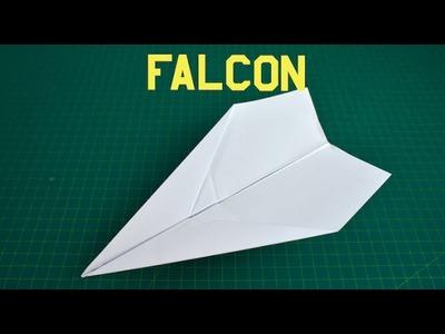 How to make a paper plane that flies far | Falcon