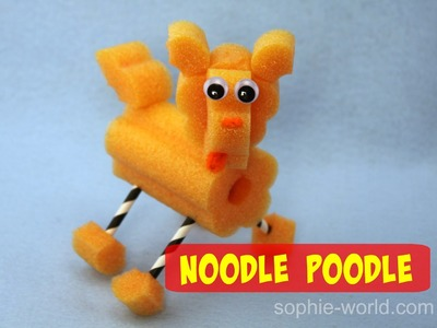 How to Make a Pool Noodle Poodle | Sophie's World