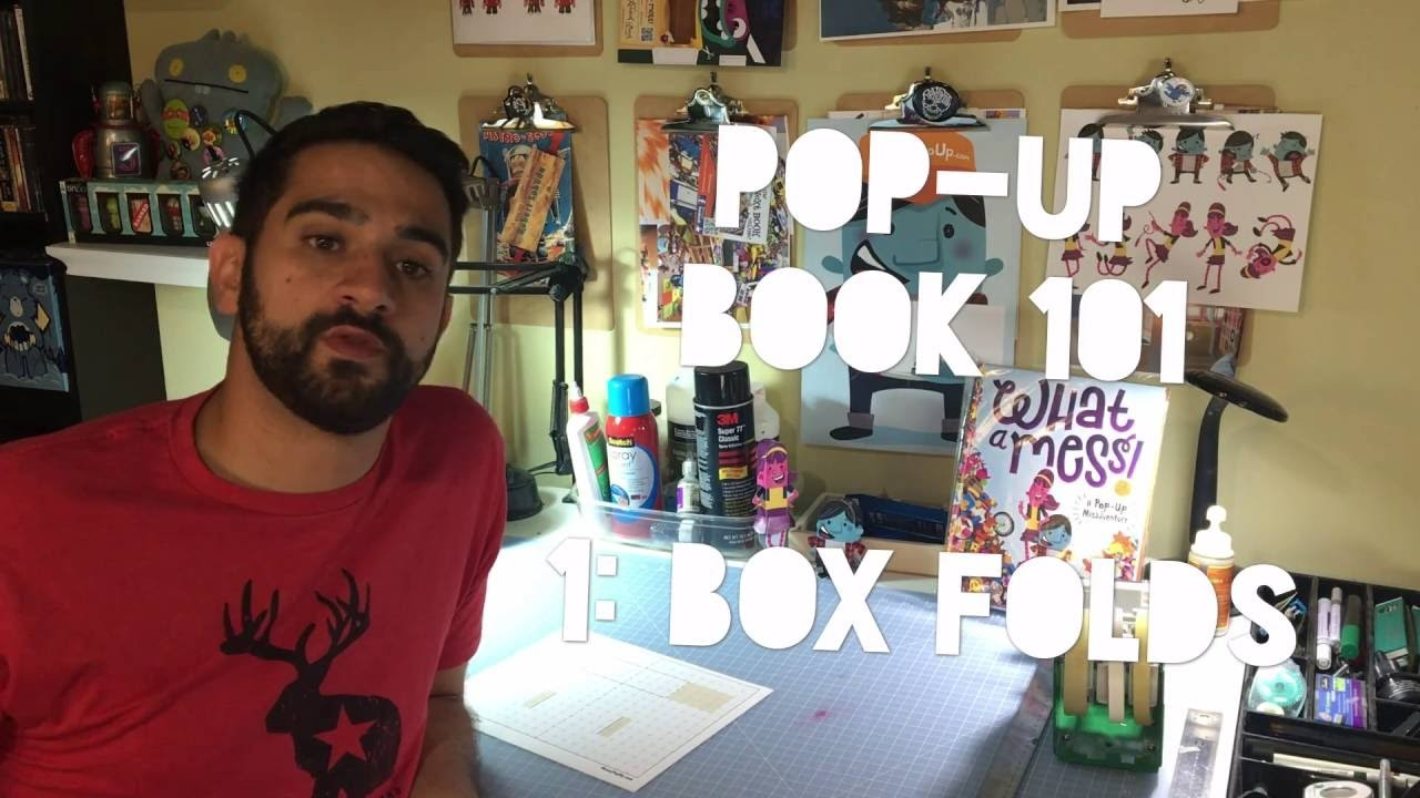 How to Make a PopUp Book: the Basics Lesson 1