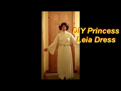 How to Make a Princess Leia Costume Part 2: The Dress