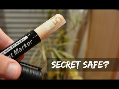 How To Make A Secret PENCIL Safe?