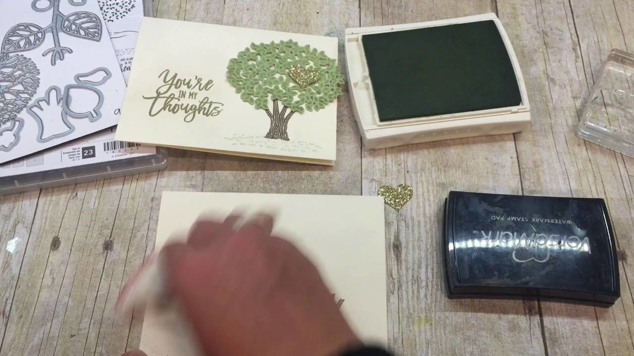 How to make a simple yet gorgeous Thoughtful Branches Card