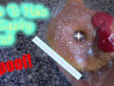 How To Make A Squishy Donut! | Make Squishies With Squishies! (SPOOF!)
