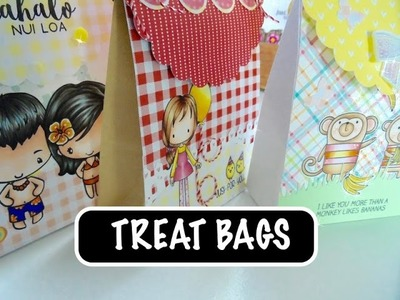 HOW TO MAKE A TREAT BAG TOPPER