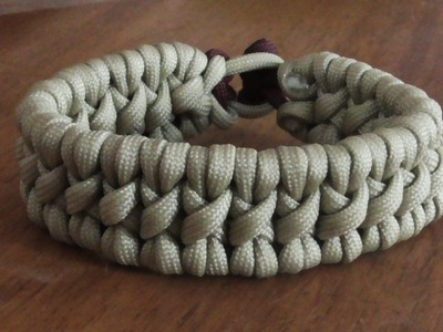 How To Make A Tyrannosaurus Rex Paracord Survival Bracelet Without Buckle