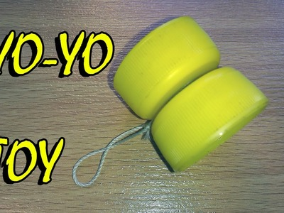 How to make a Yo-Yo - easy way Yo-Yo From Plastic Covers