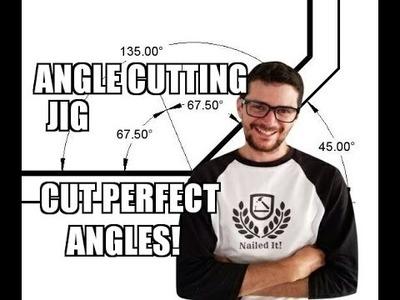 How To Make An Angle Cutting Jig - Ep. 203