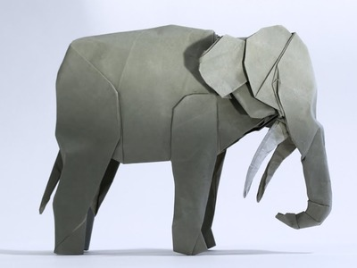 How to make an Origami Asian Elephant