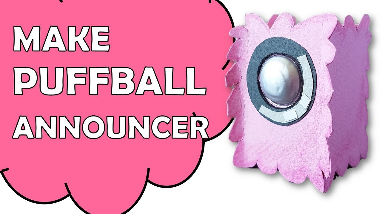 How To Make Bfdi Puffball Announcer