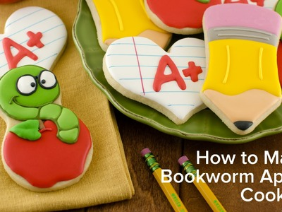 How to Make Bookworm Apple Cookies