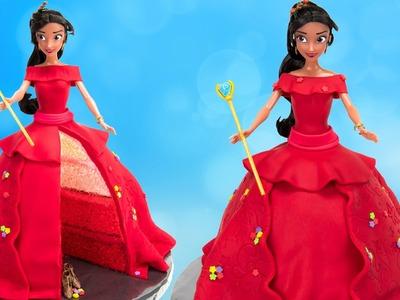 How to Make Disney Princess Elena of Avalor Doll Cake