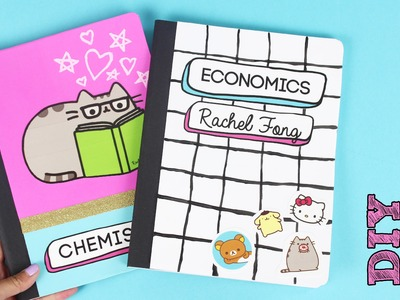 How to Make DIY Back to School Notebooks!