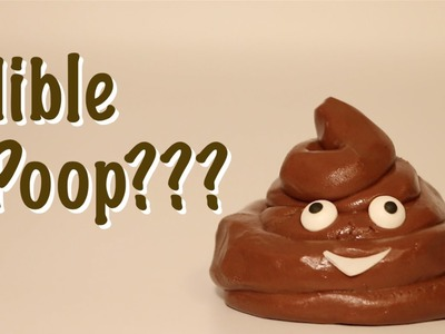 How To Make Edible Poop Emoji - Edible Chocolate Play Doh
