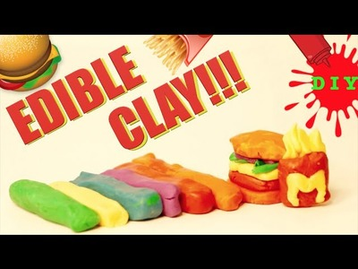 How To Make Edible Rainbow Clay - Back To School Art Supplies You Can Eat!