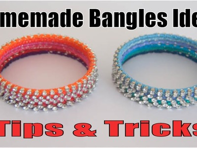 How to make fancy Bangles at Home