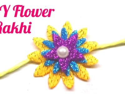 How to make Flower Rakhi for Raksha Bandhan. DIY Rakhi at home. Indian Rakhi Design. Rakhi Specia