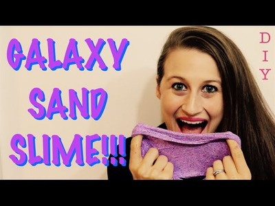 How To Make Galaxy Sand Slime