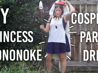 How to Make Mononoke Dress : Part 4 of my Princess Mononoke Cosplay DIY