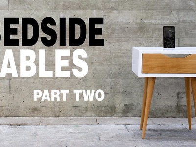 How to Make Night Stand - Part 2.3 | Scandinavian Side Tables