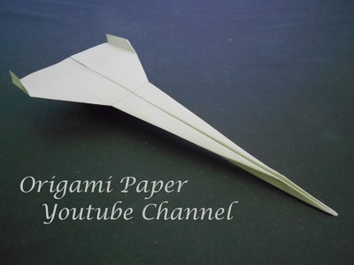 How To Make Paper Airplane - Easy Origami Jet Fighter Is Cool - Origami Paper