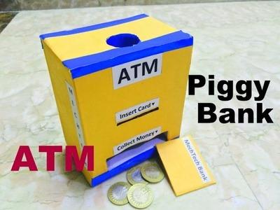How to make piggy bank.ATM