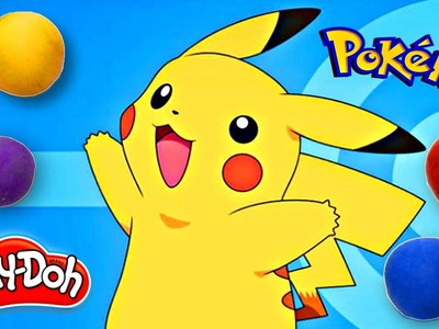 How To Make Pikachu from Pokemon Go out of Play Doh | DCTC Play Doh Videos