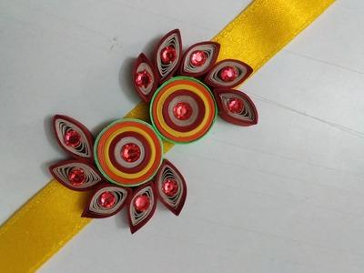 How To Make Quilling Rakhi