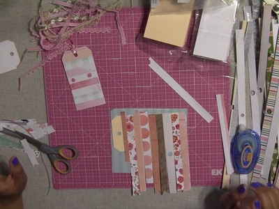 How to make Simple Gift Tags - Handmade from Paper Pad Strips