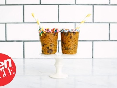How to Make Sprinkle-Topped Cookie Cups   Sweet Tooth   Teen Vogue