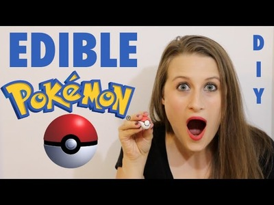 How to Make Squishy Edible Pokeballs - Pokemon Go Themed Food!