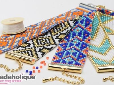 How to Make the Beaded Loom Bracelet Kits by Beadaholique