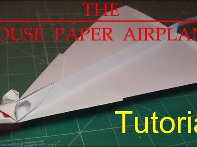 How to make The Mouse Paper Airplane - Amazing Glider