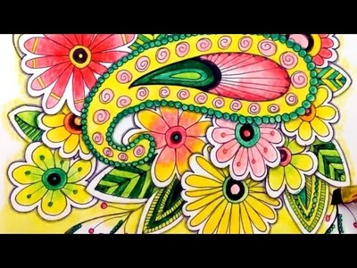 How to Make Your Coloring Pages Watercolor Safe