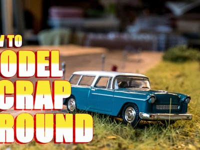 How to Model Scrap Ground