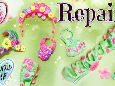 How To: Nina Thumbell Doll Accessory Repaint Tutorial | Ever After High