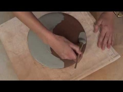 How to Print on Clay Using a Photocopied Pattern | LAUREN KARLE